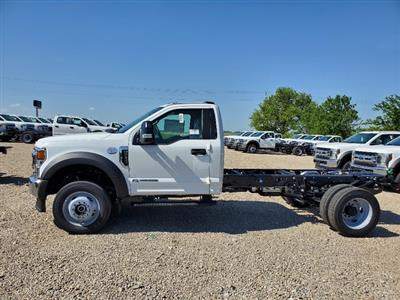 2020 Ford F-550 Regular Cab DRW 4x4, Cab Chassis #FE204554 - photo 4
