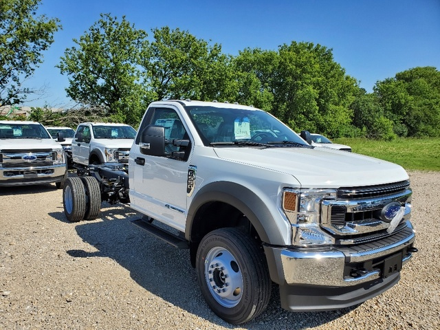 2020 Ford F-550 Regular Cab DRW 4x4, Cab Chassis #FE204555 - photo 1