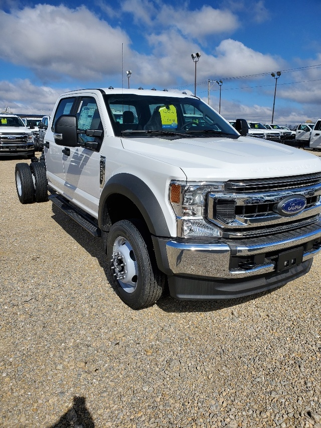 2020 Ford F-550 Crew Cab DRW 4x4, Cab Chassis #FE204644 - photo 3