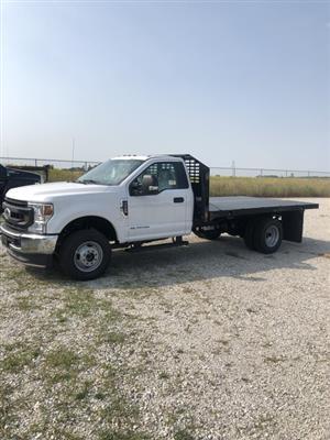 2020 Ford F-350 Regular Cab DRW 4x4, CM Truck Beds PLS Platform Body #FE204675 - photo 1