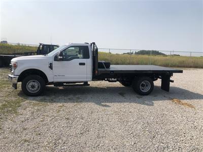2020 Ford F-350 Regular Cab DRW 4x4, CM Truck Beds PLS Platform Body #FE204675 - photo 3