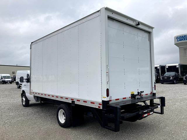 2021 E-450 4x2,  Morgan Truck Body Parcel Aluminum Cutaway Van #FE205241 - photo 2