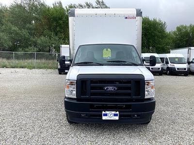 2021 E-450 4x2,  Morgan Truck Body Parcel Aluminum Cutaway Van #FE205256 - photo 10