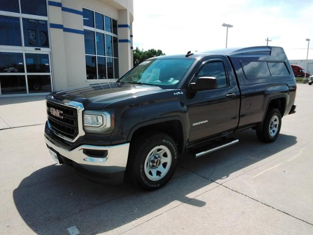 2016 GMC Sierra 1500 Regular Cab 4x4, Pickup #LU2336 - photo 4