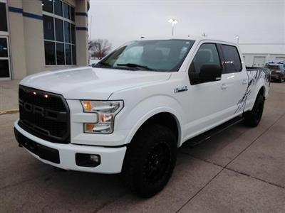 2017 Ford F-150 SuperCrew Cab 4x4, Pickup #LU2746 - photo 4