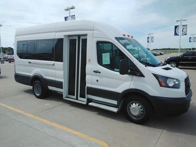 2015 Ford Transit 350 DRW 4x2, Passenger Wagon #LU5007 - photo 1