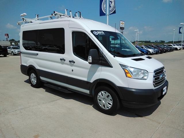 2015 Ford Transit 150 Medium Roof 4x2, Upfitted Cargo Van #LU5041 - photo 1
