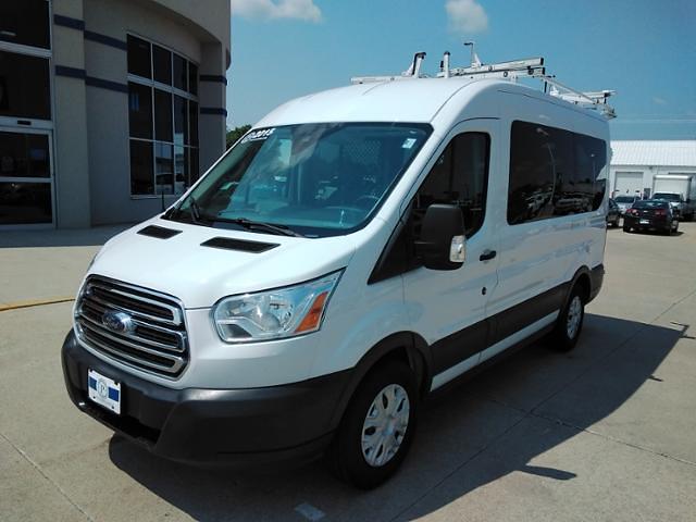 2015 Ford Transit 150 Medium Roof 4x2, Upfitted Cargo Van #LU5041 - photo 4