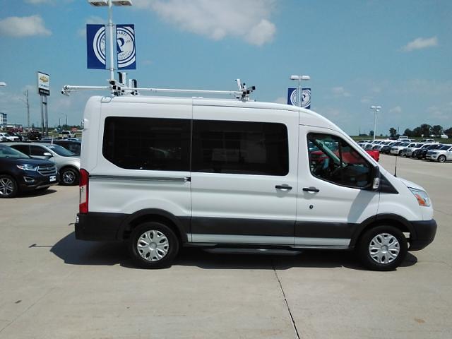 2015 Ford Transit 150 Medium Roof 4x2, Upfitted Cargo Van #LU5041 - photo 9