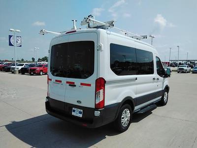 2015 Ford Transit 150 Medium Roof 4x2, Upfitted Cargo Van #LU5041 - photo 8