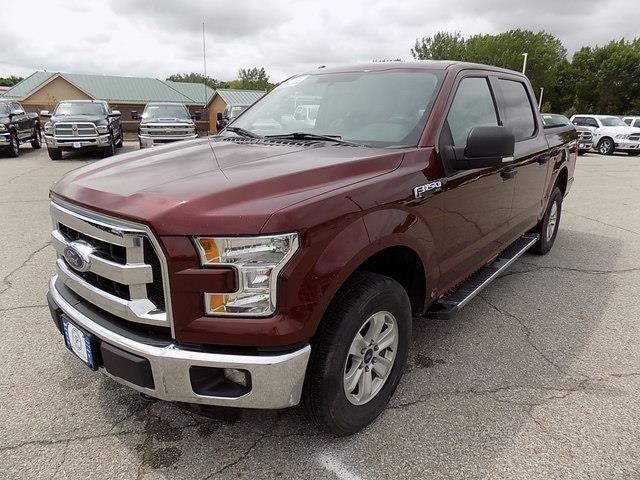 2015 Ford F-150 SuperCrew Cab 4x4, Pickup #U1571B - photo 8