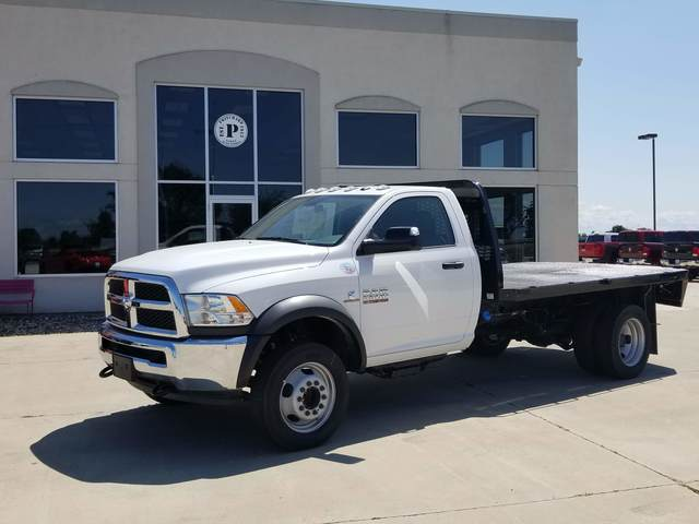 2018 Ram 5500 Regular Cab DRW RWD, Knapheide Platform Body #FE175635 - photo 1