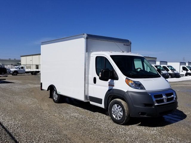 2017 ProMaster 3500 Low Roof FWD, Rockport Cargoport Cutaway Van #FZ165160A - photo 8