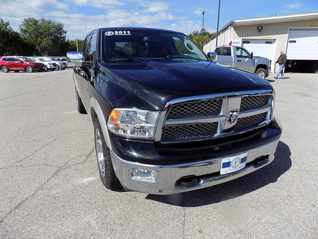 2011 Ram 1500 Crew Cab 4x4, Pickup #U1716A - photo 10