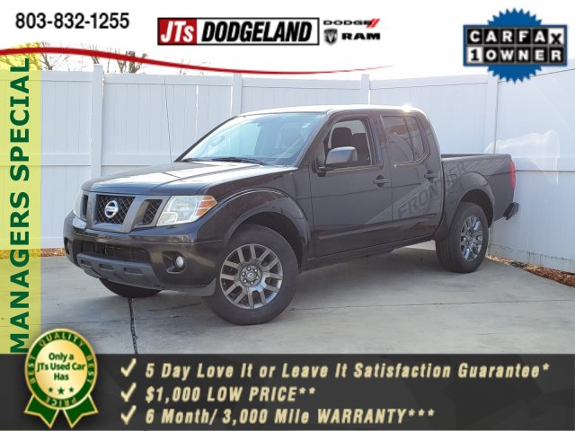 2012 Nissan Frontier Crew Cab 4x2, Pickup #921110A - photo 1
