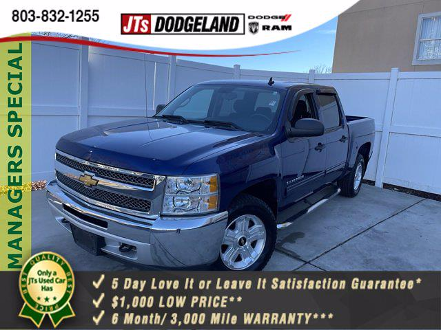 2013 Chevrolet Silverado 1500 Crew Cab 4x4, Pickup #P5532 - photo 1
