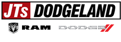 JT's Dodgeland of Columbia logo