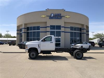 2019 Chevrolet Silverado Medium Duty Crew Cab DRW 4x4, Cab Chassis #FP190349A - photo 3