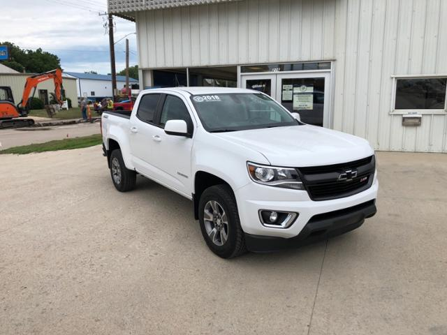 2018 Chevrolet Colorado Crew Cab 4x4, Pickup #J550 - photo 1