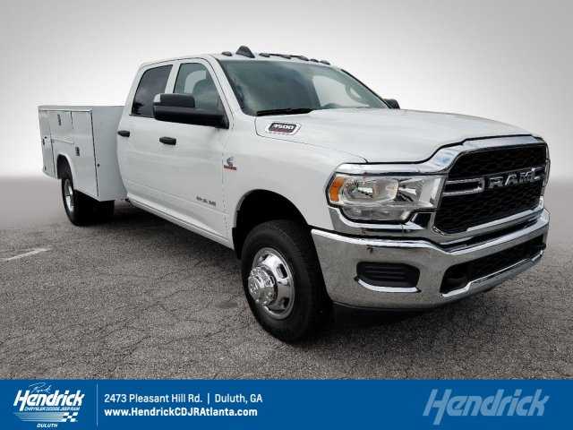 2019 Ram 3500 Crew Cab DRW 4x2, Reading Service Body #KG538396 - photo 1