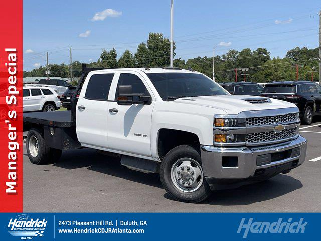 2019 Chevrolet Silverado 3500 Crew Cab DRW 4x4, Platform Body #L72928A - photo 1