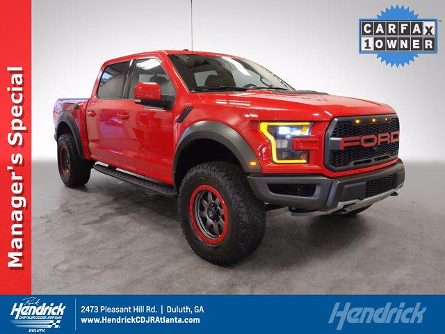 2018 Ford F-150 SuperCrew Cab 4x4, Pickup #L99338A - photo 1