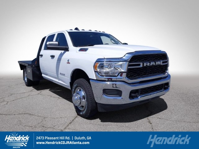 2020 Ram 3500 Crew Cab DRW 4x4, CM Truck Beds Platform Body #LG145060 - photo 1