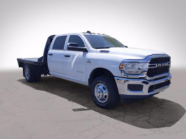 2021 Ram 3500 Crew Cab DRW 4x4, CM Truck Beds Platform Body #M07298 - photo 4