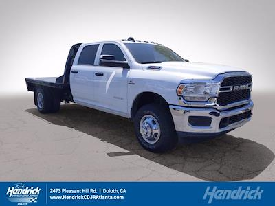 2021 Ram 3500 Crew Cab DRW 4x4, CM Truck Beds Platform Body #M07298 - photo 1