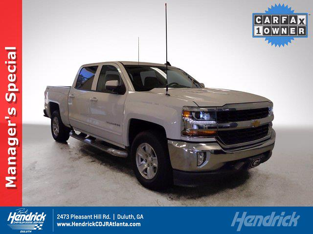 2018 Chevrolet Silverado 1500 Crew Cab 4x4, Pickup #P60544 - photo 1