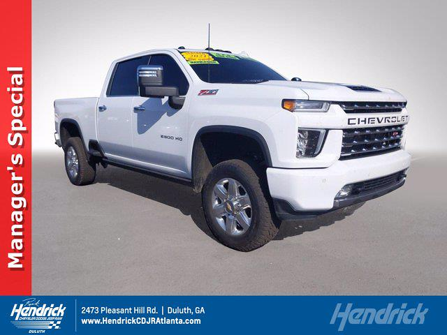 2021 Chevrolet Silverado 2500 Crew Cab 4x4, Pickup #SA60975 - photo 1