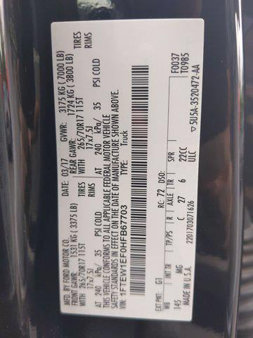 2017 F-150 SuperCrew Cab 4x4,  Pickup #SA61199 - photo 38