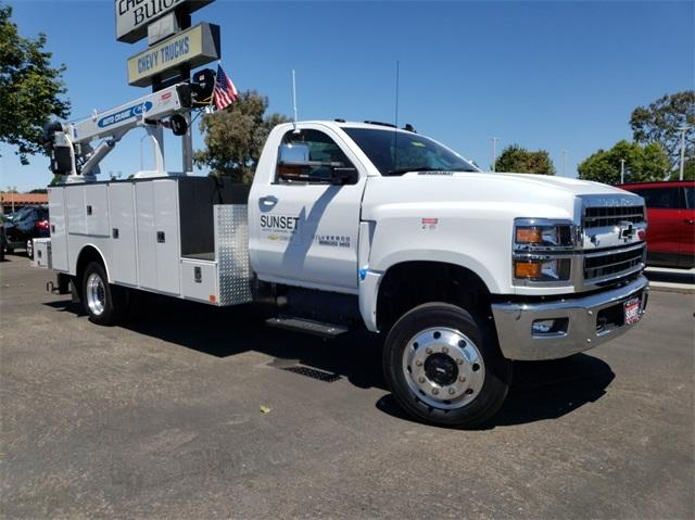 2019 Silverado 6500 Regular Cab DRW 4x4,  Douglass Mechanics Body #T19175 - photo 1