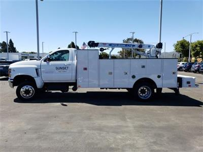 2019 Silverado 6500 Regular Cab DRW 4x4,  Douglass Mechanics Body #T19175 - photo 6