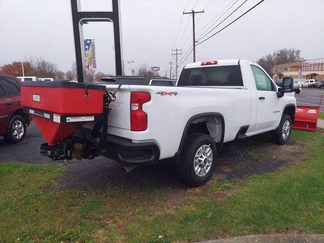 2021 Chevrolet Silverado 2500 Regular Cab 4x4, Plow w/ Salt spreader #MF101205 - photo 1