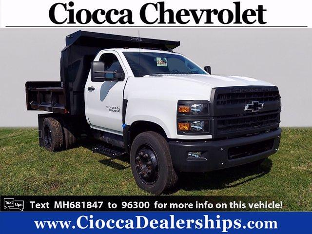 2021 Chevrolet Silverado Medium Duty Regular Cab DRW 4x2, Crysteel Dump Body #MH681847 - photo 1