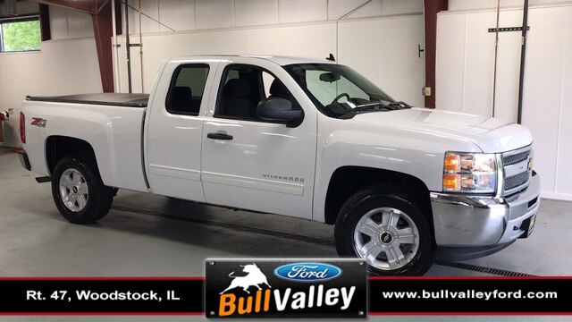 2012 Chevrolet Silverado 1500 Extended Cab 4x4, Pickup #2348A - photo 1