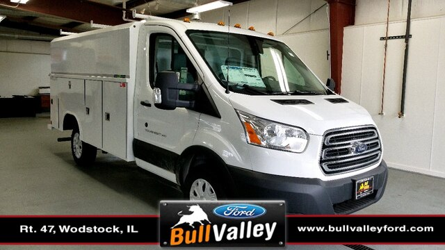 2019 Transit 350 4x2,  Reading Aluminum CSV Service Utility Van #92419 - photo 1