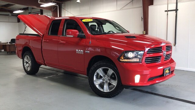 2013 Ram 1500 Quad Cab 4x4, Pickup #92589A - photo 4
