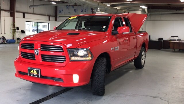 2013 Ram 1500 Quad Cab 4x4, Pickup #92589A - photo 5