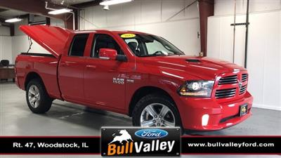 2013 Ram 1500 Quad Cab 4x4, Pickup #92589A - photo 1