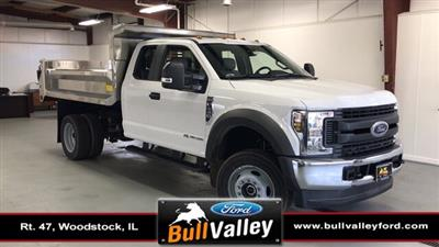 2019 F-450 Super Cab DRW 4x4, Air-Flo Pro-Class Dump Body #92703 - photo 1