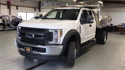 2019 F-450 Super Cab DRW 4x4, Air-Flo Pro-Class Dump Body #92703 - photo 4
