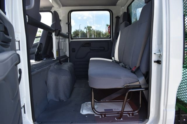 2018 LCF 4500 Crew Cab 4x2,  Womack Truck Body Dovetail Landscape #JS807191 - photo 11