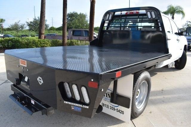 2019 Silverado 3500 Crew Cab DRW 4x4,  CM Truck Beds Platform Body #KF251664 - photo 1