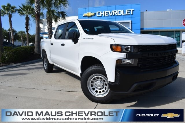 2019 Silverado 1500 Crew Cab 4x2, Pickup #KG127887 - photo 1
