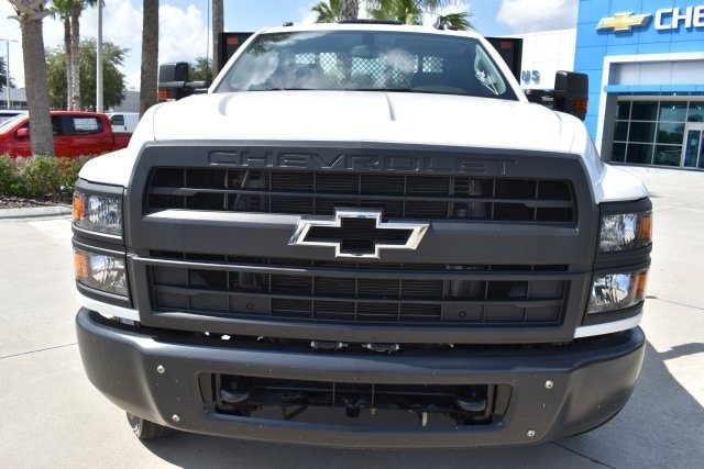 2019 Silverado 5500 4x2, Action Fabrication Platform Body #KH399878 - photo 4