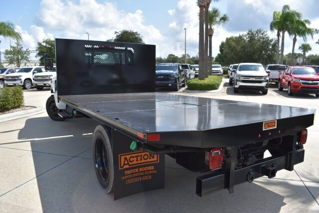 2019 Silverado 5500 4x2, Action Fabrication Platform Body #KH399878 - photo 3