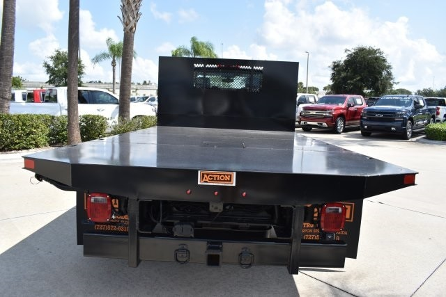 2019 Silverado 5500 4x2, Action Fabrication Platform Body #KH399878 - photo 8