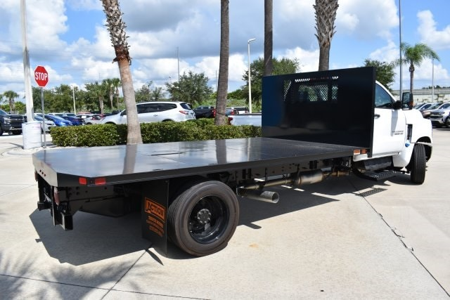 2019 Silverado 5500 4x2,  Action Fabrication Platform Body #KH399878 - photo 1